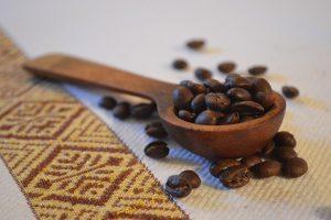 Etiopie - zrnka kávy