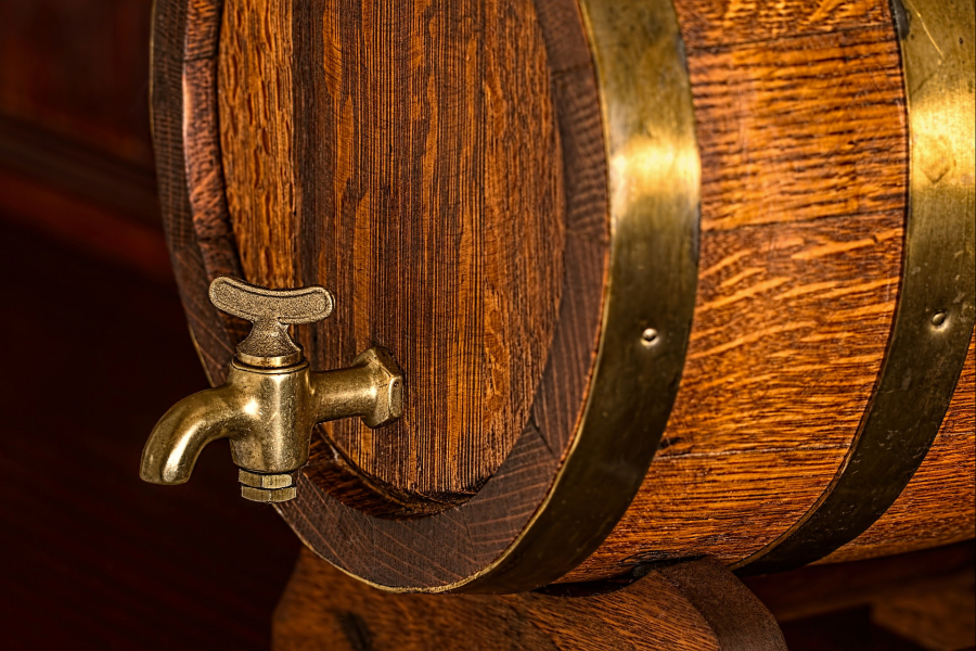 pivo v sudu